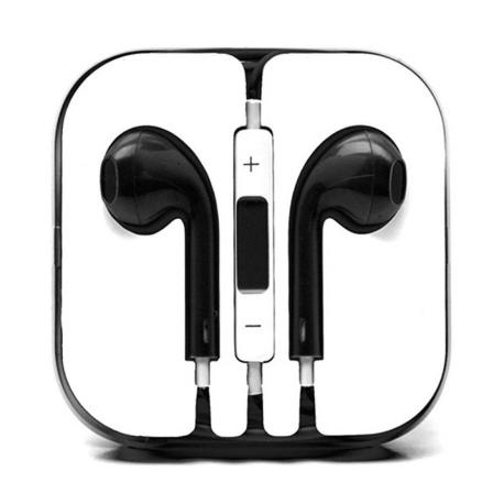 AURICULARES PARA IPHONE E IPAD COMPATIBLE NEGRO