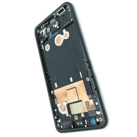 CARCASA FRONTAL DE LCD PARA HTC U11 - NEGRO