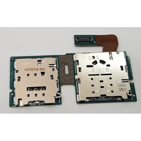 MODULO ADAPTADOR SIM + SD ORIGINAL PARA SAMSUNG GALAXY TAB S2 (9.7, LTE) SM-T819 - RECUPERADO