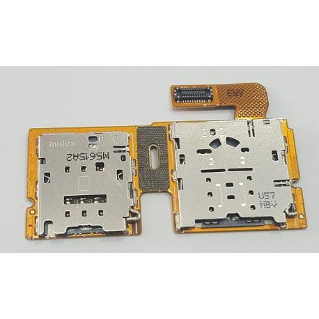 ADAPTADOR BANDEJA SIM + SD ORIGINAL PARA TABLET SAMSUNG SM-T815 - RECUPERADO