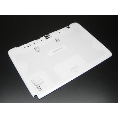TAPA TRASERA PARA SAMSUNG GT-N8000 GALAXY NOTE 10.1 3G - BLANCA