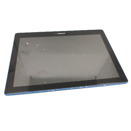 PANTALLA LCD DISPLAY Y TACTIL CON MARCO AZUL PARA LENOVO TAB 10 TB-X103F - NEGRA