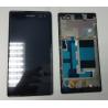 Pantalla Lcd + Tactil con Marco Original Sony Xperia C3 D2533 D2502 S55U S55T Negra