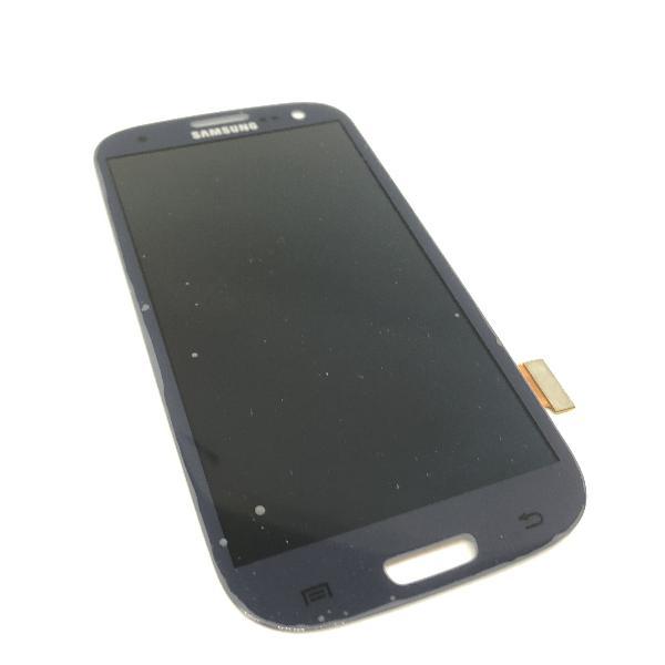 PANTALLA LCD Y TACTIL PARA SAMSUNG GALAXY S3 - AZUL OSCURO - DESMONTAJE