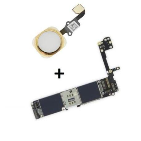 PLACA BASE LOGIC BOARD MOTHERBOARD IPHONE 6S LIBRE 128GB (CON BOTON HOME BLANCO ) - RECUPERADA