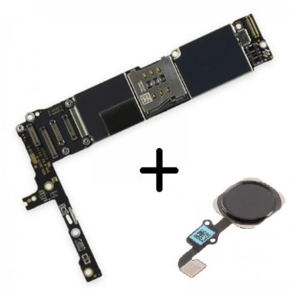 92746d6a5ee Placa Base Logic Board Motherboard iPhone 6 Plus Libre 64GB ( Con Boton  Home Negro ) - Recuperada