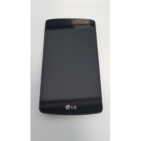 PANTALLA LCD DISPLAY + TACTIL CON MARCO LG F60 D392 D390 NEGRA - RECUPERADA