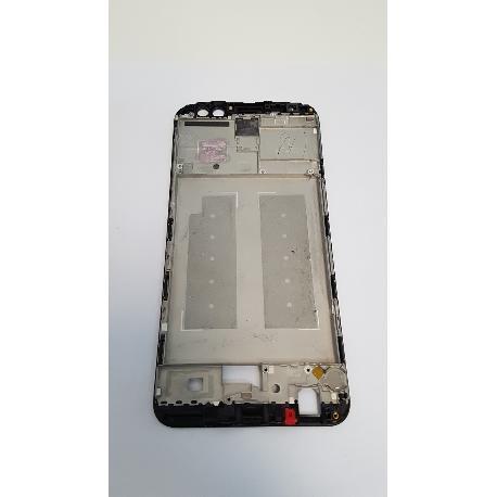 MARCO FRONTAL DE LCD DISPLAY PARA HUAWEI MATE 10 LITE NEGRO - RECUPERADO