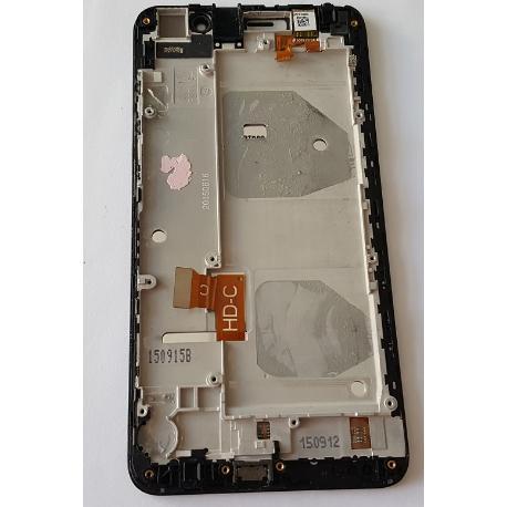 PANTALLA LCD DISPLAY + TACTIL CON MARCO ORIGINAL PARA HONOR 4X - RECUPERADA