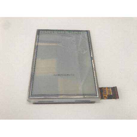 """PANTALLA EBOOK LIBRO ELECTRONICO WOLDER MIBUK HAMONY PLUS 6"""" ED060XD4 (LF) C1"""