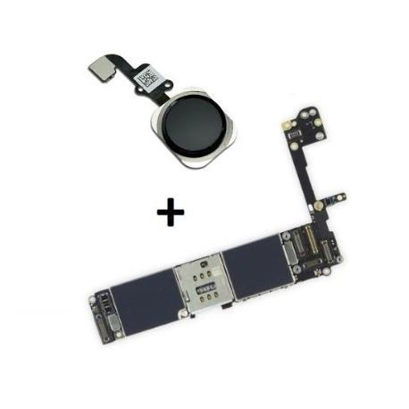 PLACA BASE LOGIC BOARD MOTHERBOARD IPHONE 6S LIBRE 32GB (CON BOTON HOME NEGRO ) - RECUPERADA
