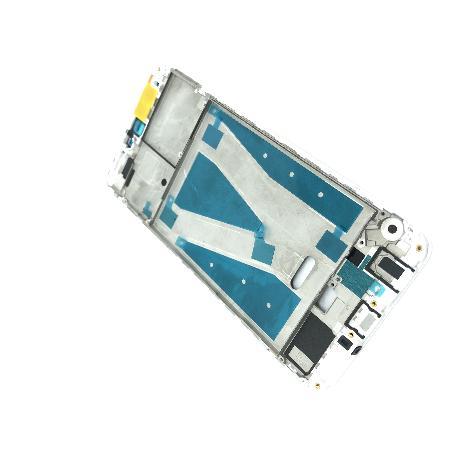 CARCASA FRONTAL DE LCD PARA HUAWEI Y9 2018, ENJOY 8 PLUS - BLANCA