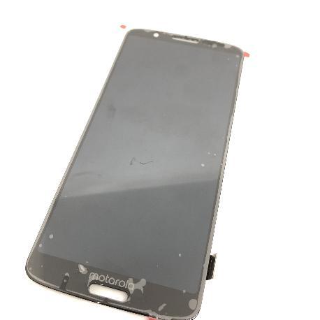 PANTALLA LCD DISPLAY + TACTIL PARA MOTOROLA MOTO G6 PLUS - NEGRA