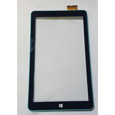 PANTALLA TACTIL CON MARCO ORIGINAL TABLET PC SELECLINE MI90Q5 / 874412 VERDE - RECUPERADA