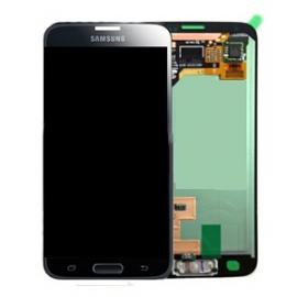 Pantalla Completa con marco Original Samsung Galaxy S5 Mini SM-G800F Negra