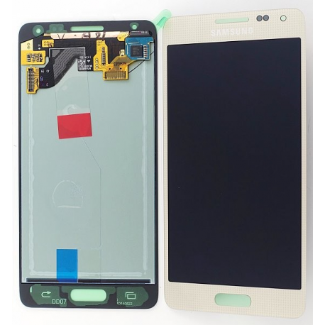 Pantalla Lcd + Tactil Samsung Galaxy Alpha SM-G850F Oro Dorada