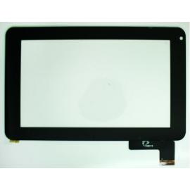 """Pantalla Tactil Universal Tablet de 7"""" para BQ Pascal 2 / Carrefour CT705 - Negra"""