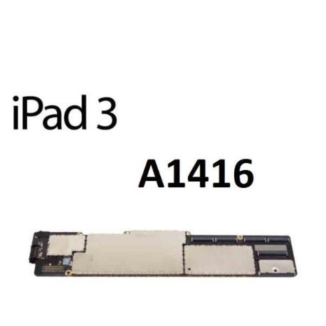 PLACA BASE ORIGINAL APPLE IPAD 3 A1416 WIFI 64GB - RECUPERADA