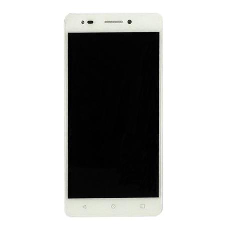 PANTALLA LCD + TACTIL CON MARCO ORIGINAL BQ AQUARIS M5.5 - BLANCA
