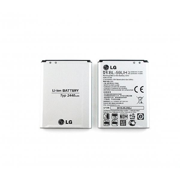 8151c2efc75 Batería Original LG G2 Mini D620 y LG F70 D315 / BL-59UH / 2440mAh