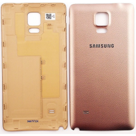 Carcasa Tapa Trasera Original Samsung Galaxy Note 4 N910F Oro Dorada