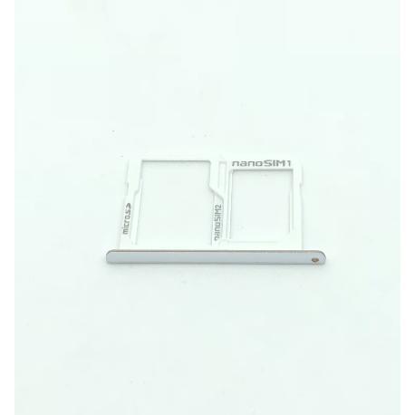 BANDEJA SIM Y SD PARA LG X POWER K220 - BLANCO