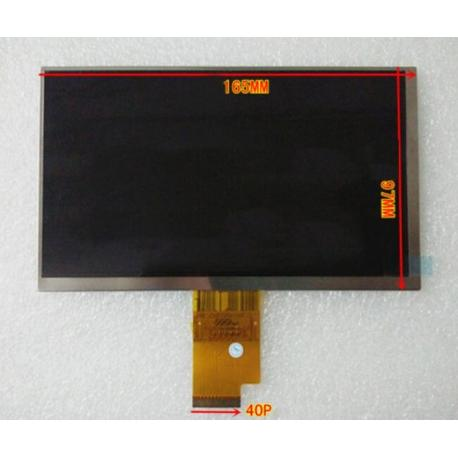 LCD 7 PULGADAS ORIGINAL PARA SCIENCE4YOU TAB4YOU III TAB3.0 - 01875 (CON 40 PINES) / RECUPERADA