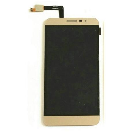 PANTALLA LCD DISPLAY + TACTIL COOLPAD MODENA E501 Y75 Y76 Y80D Y80-C ORO DORADA
