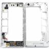 Carcasa Intermedia con Lente de Camara Original Huawei Ascend G6 Orange Gova