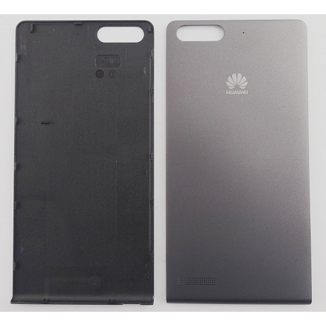 Carcasa Tapa Trasera Original Huawei Ascend G6 Orange Gova Negra