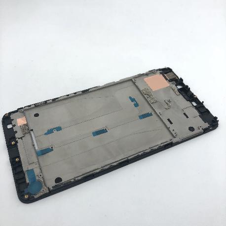 CARCASA FRONTAL DE LCD ARA XIAOMI MI MAX 2 - NEGRA