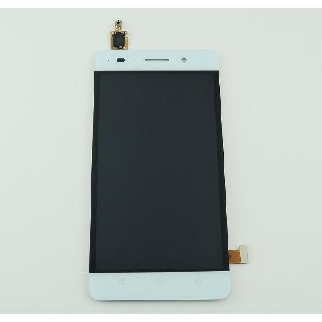 PANTALLA LCD DISPLAY + TACTIL CON MARCO PARA HUAWEI HONOR 4C - BLANCO