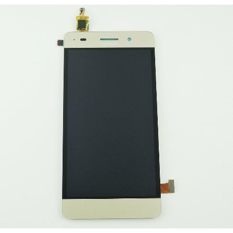 PANTALLA LCD DISPLAY + TACTIL CON MARCO PARA HUAWEI HONOR 4C - ORO