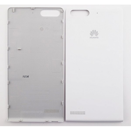Carcasa Tapa Trasera Original Huawei Ascend G6 Orange Gova Blanco