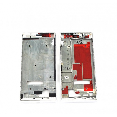 Carcasa Intermedia Original Huawei Ascend P7 Blanca