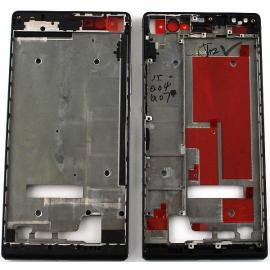 Carcasa Intermedia Original Huawei Ascend P7 Negra