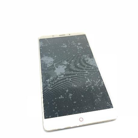 PANTALLA LCD DISPLAY + TACTIL CON MARCO PARA ZTE NUBIA Z11 MAX - ORO