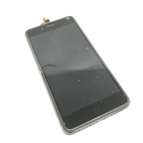 PANTALLA LCD DISPLAY + TACTIL CON MARCO PARA ZTE NUBIA Z11 MINI - NEGRA