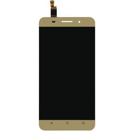 REPUESTO PANTALLA TACTIL + LCD PARA HUAWEI HONOR 4C - ORO