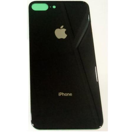 TAPA TRASERA PARA IPHONE 8 PLUS - NEGRA