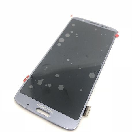 PANTALLA LCD DISPLAY + TACTIL PARA MOTOROLA MOTO G6 PLUS - AZUL