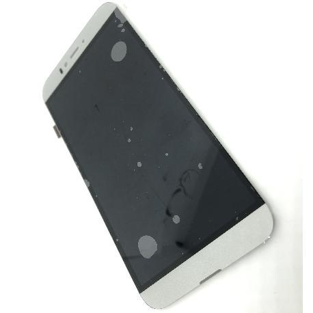 PANTALLA LCD Y TACTIL PARA UMI IRON PRO - BLANCO / PLATA