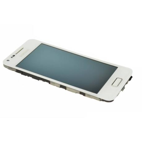 PANTALLA TACTIL + LCD CON MARCO SAMSUNG I9070 GALAXY S ADVANCE BLANCO