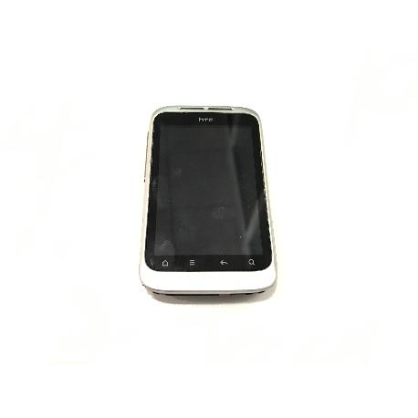 PANTALLA COMPLETA CON MARCO ORIGINAL HTC NM8PG76100 G13 WILDFIRE S - RECUPERADA