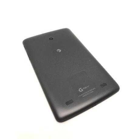 TAPA TRASERA PARA LG G PAD 7.0 LTE V410 - NEGRA
