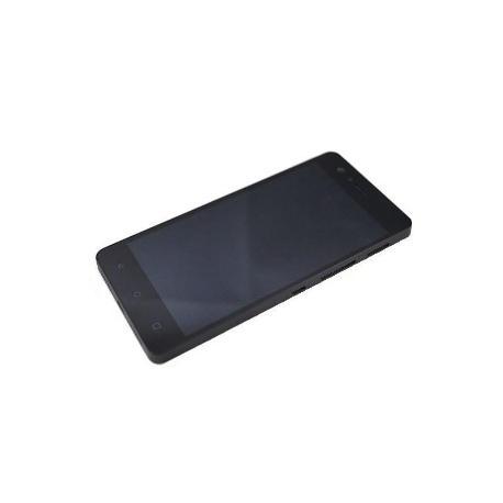 PANTALLA LCD + TACTIL CON MARCO ORIGINAL BQ AQUARIS M5 - NEGRA