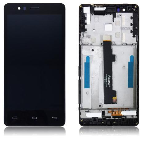 PANTALLA LCD DISPLAY + TACTIL CON MARCO ORIGINAL BQ AQUARIS E5 HD TFT5K0858FPC-A1-E - RECUPERADA TARA