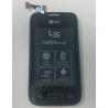 Pantalla Lcd + Tactil con Marco Original LG L35 D150 Negra