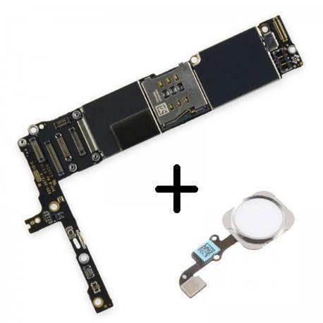 PLACA BASE LOGIC BOARD MOTHERBOARD IPHONE 6 PLUS LIBRE 16GB ( CON BOTON HOME BLANCO ) - RECUPERADA