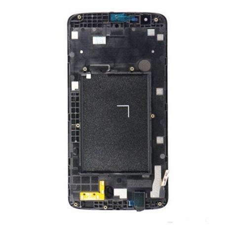 PANTALLA LCD DISPLAY + TACTIL CON MARCO PARA LG TRIBUTE 5 LS675 - BLANCA